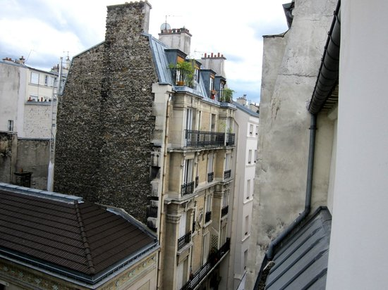 Hotel du Haut Marais: view from top floor apartment