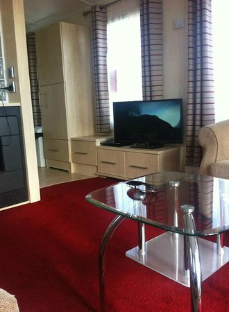 Lounge area with freeview and dvd player