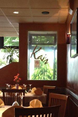 Kai's Restaurant: excellent