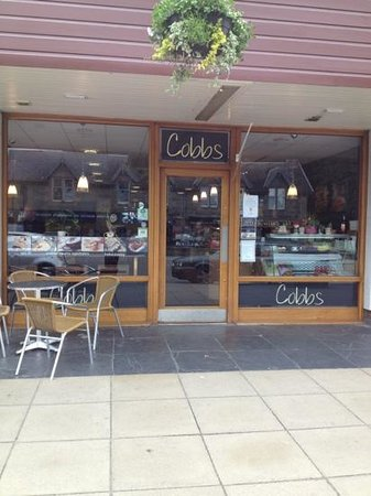 Cobbs Cafe: front of cafe