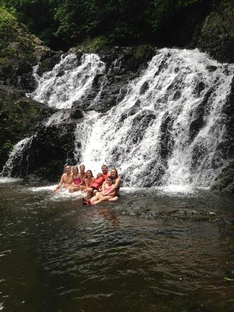 PBA Holding Group Private Tours: The waterfall in the middle of nowhere