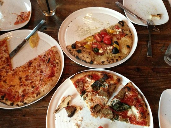 3 Palms Pizzeria & Bakery: Average meh pizza...