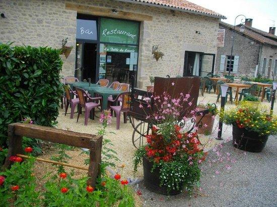 Restaurant la table du lavoir dans montrol senard avec - La table du lavoir restaurant martillac ...