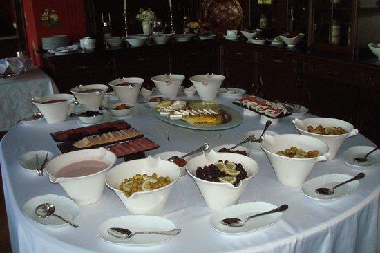 Villa Augusto: Завтрак