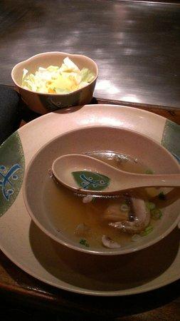 Takaoka Of Japan: Delicious soup and salad