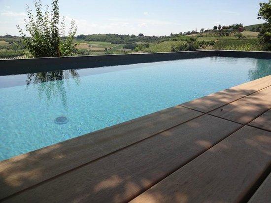 Ca Alfieri al 30 B&B Camere di Charme: la nuova piscina