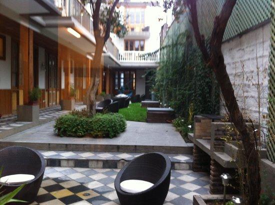 Hotel Loreto: Jardim