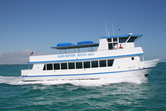 Key Largo Princess Glass Bottom Boat: Key Largo Princess II