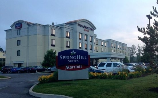 SpringHill Suites Erie: Could be anywhere, but always consistent