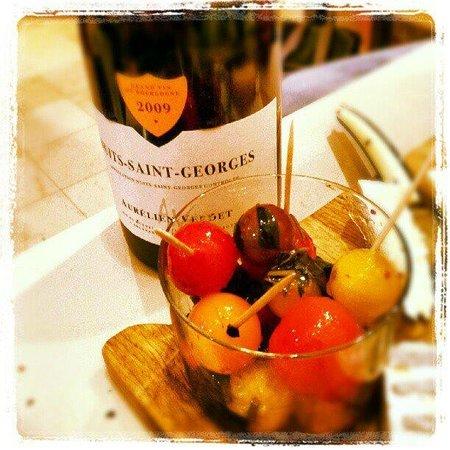 Les Vins De Maurice: Pomodorini e Nuits Saint Georges...