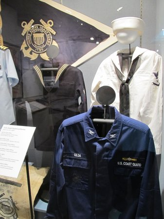 Maine Maritime Museum : Coast Guard Uniforms