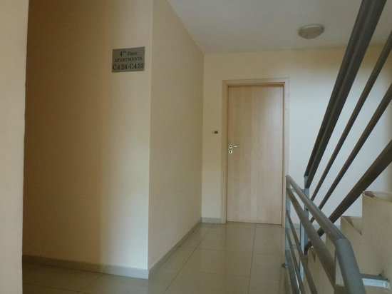 Kamelia Garden Apartments : на лестнице