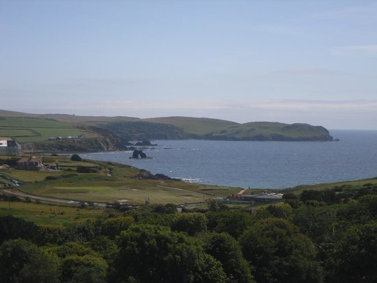 Thurlestone Hotel: View from bedroom 364