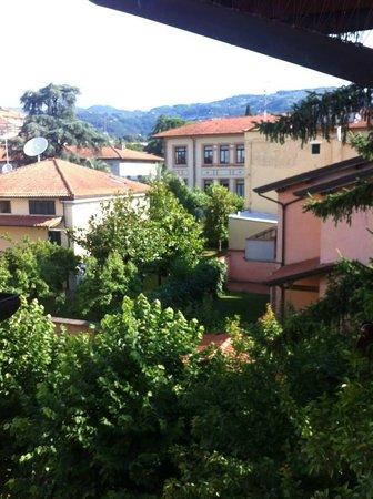 Petit Chateau Bed & Breakfast: dalla mia finestra avevo questo panorama!!