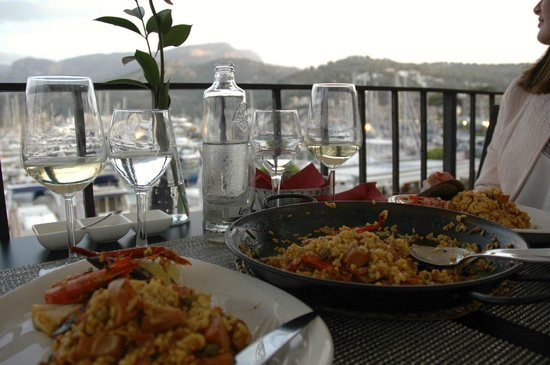 Ca´n ribes: The paella with the view