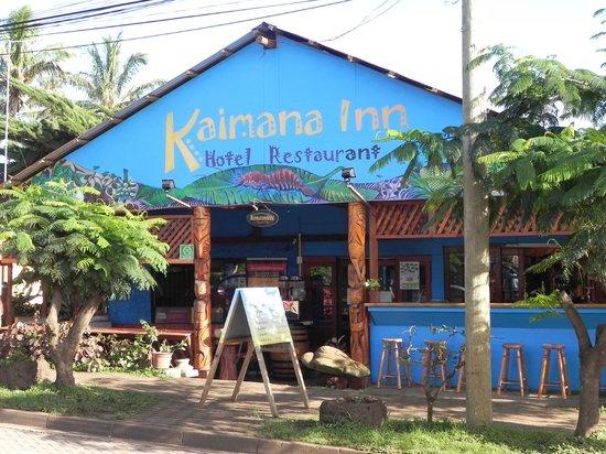 Kaimana Inn Hotel & Restaurant: Kaimana Inn Restaurant