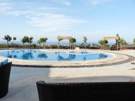 Santorini Mesotopos: La piscine