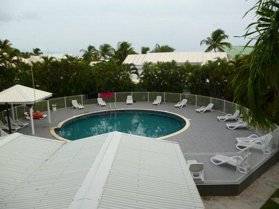 Bwa Chik Hotel & Golf: vue du balcon