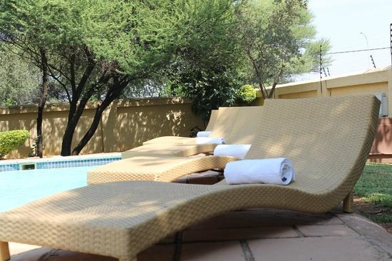 The Capital Guesthouse: Pool area