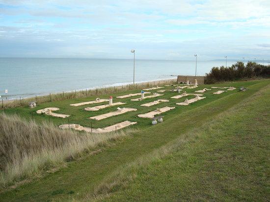 Sweet Home : mini golf et mer