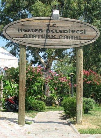 Magic Dream Resort Hotel: вход в парк в Кемере