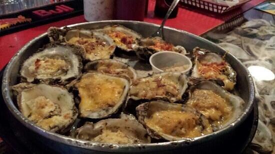 Boss Oyster: Combo platter