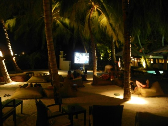 Kurumba Maldives: Open Air theatre