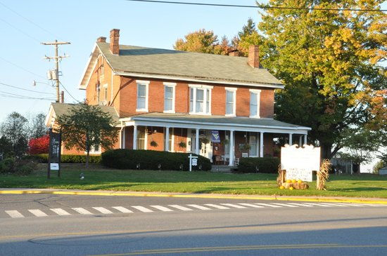 Street view of The Preston County Inn