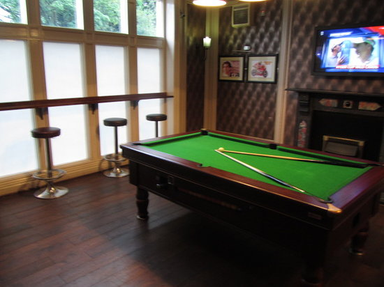The Manor: Pool Room