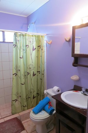 Hotel Perico Azul : very clean bathroom