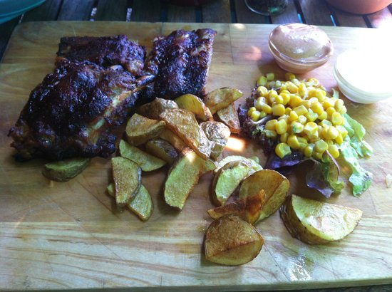 Liebstockl + Co: Speciality of the house - excellent ribs!