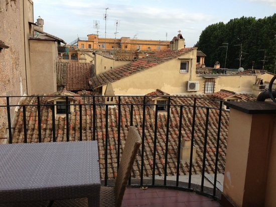 Hotel Indigo Rome - St. George: Rooftop view from terrace