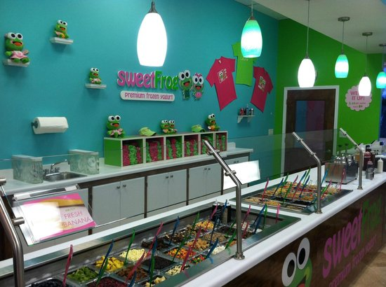 Sweet Frog Premium Frozen Yogurt Myrtle Beach