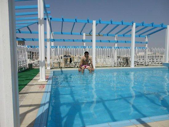 فندق دريم باليس: On the top floor. Pool area
