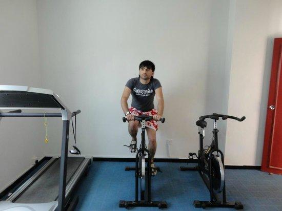 فندق دريم باليس: Gym area.