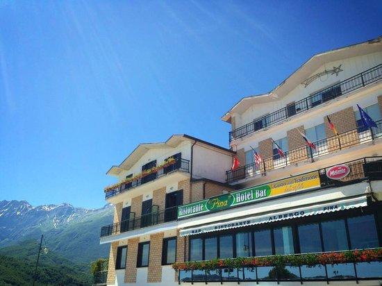 Hotel Pina: Raggio di sole sul Ristorante
