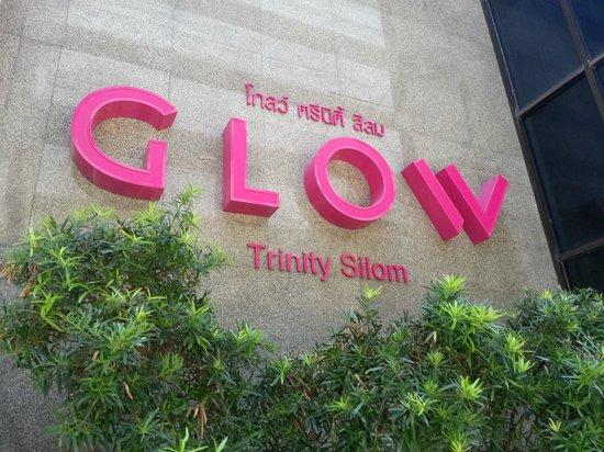 Trinity Silom Hotel: The entrance