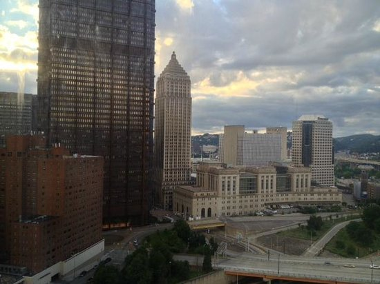 Pittsburgh Marriott City Center: View from room 1812