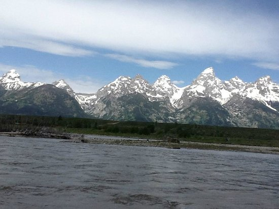 Jackson Lake Lodge: On the Snake River, Grand Tetons