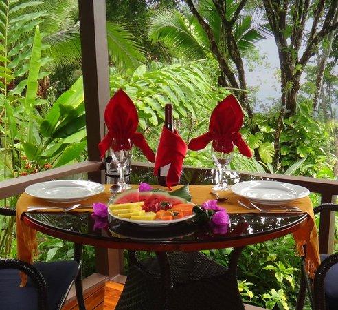 La Paloma Lodge : Breakfast