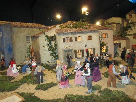 Village Provencal miniature : village de provence