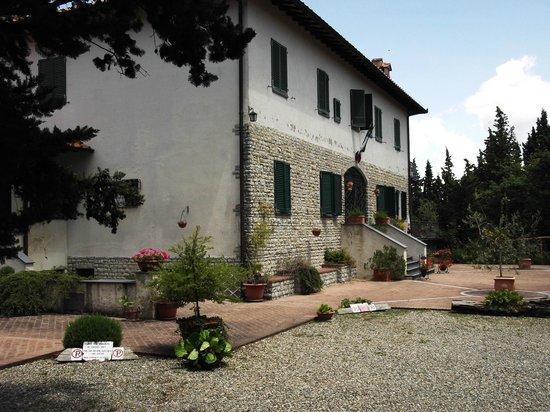 Villa Sant'Uberto Country Inn: Eingangsbereich