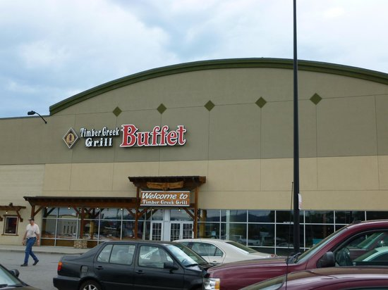 Timber Creek Grill Buffet: View from the Parking Lot