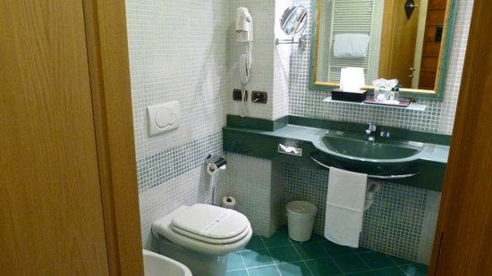 This room had a narrow shower stall, others had tubs - Picture of ...