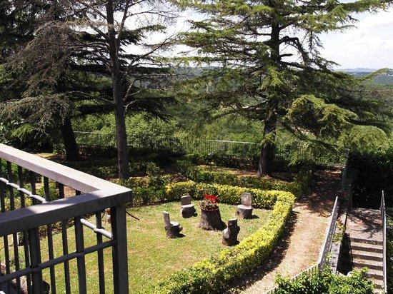 Villa Sant'Uberto Country Inn: Blick von der Frühstücksterrasse