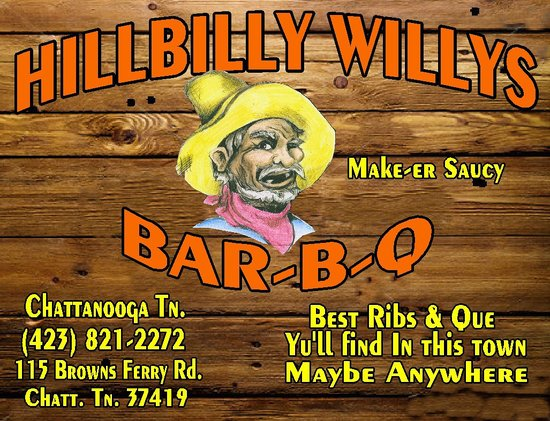 Hillbilly Willy's BBQ: HillbillyWillys Bar-B-Q