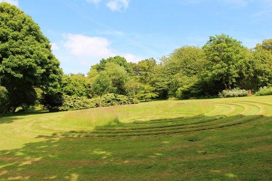 The Pines Garden: The Turf Maze.