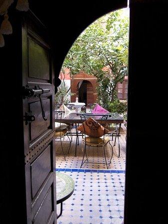 Dar Moulay Ali: La vista dalla nostra stanza