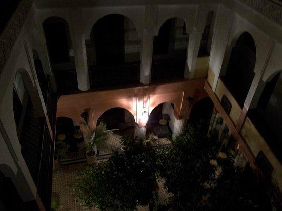 Dar Moulay Ali: vista notturna del riad dalla terrazza