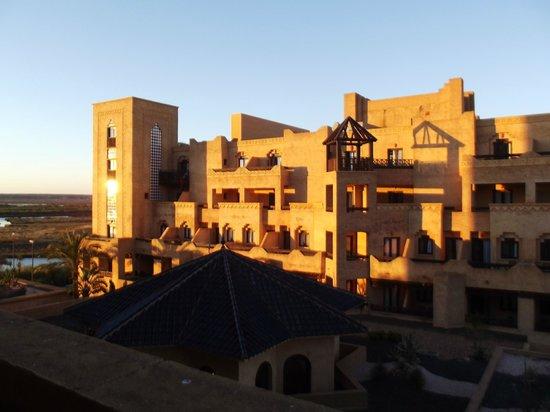 IBEROSTAR Isla Canela Hotel: Aussicht bei Sonnenuntergang
